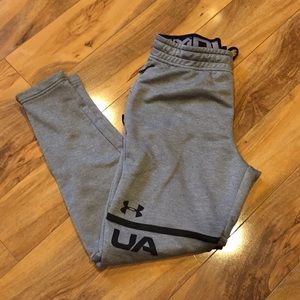 Men's small fitted under armour joggers sweatpants